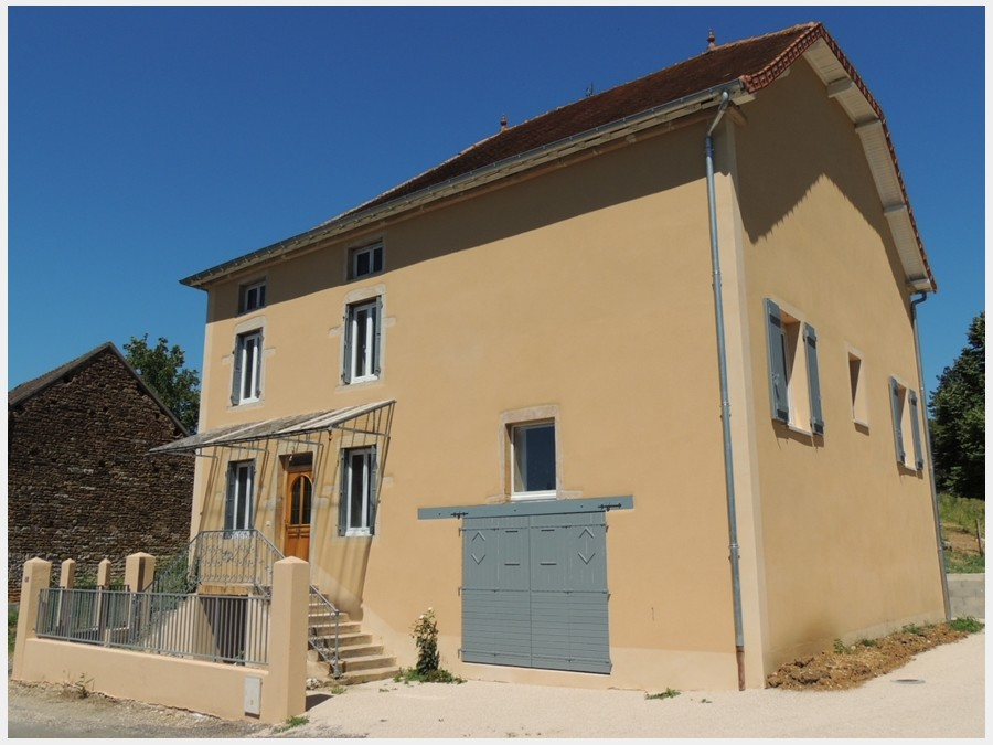 close to a village, and recently renovated