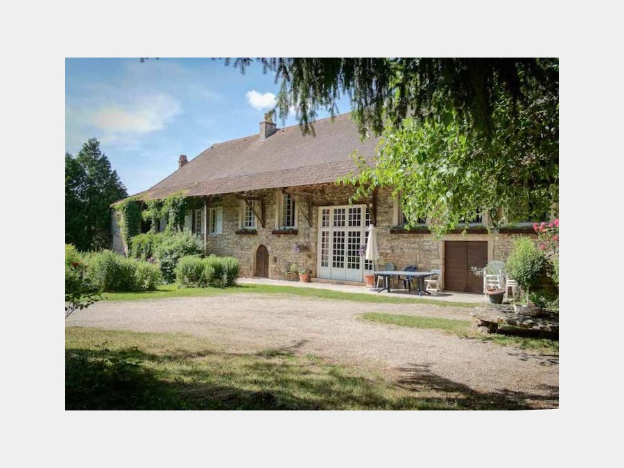 large attractive house in a quiet hamlet